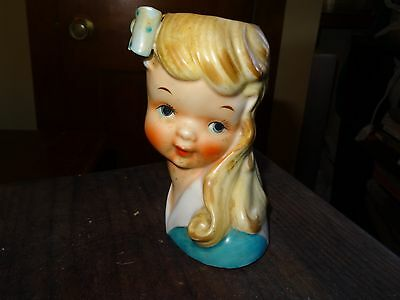 Great Head Vase - N506D - Cute Girl