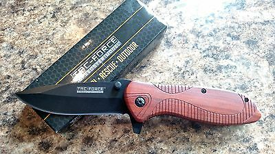 Tac Force Stainless Steel Spring Assisted Tactical Folding Pocket Knife