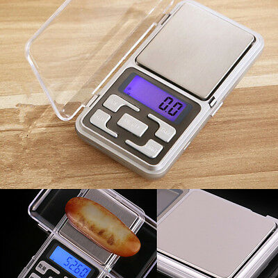 200g Digital Pocket Scale 0.01g Precision Jewellery Balance gram Scales Weight H