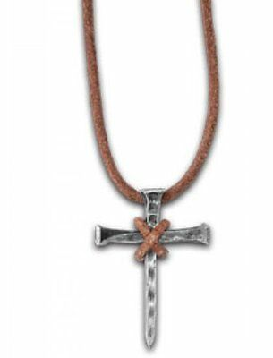 NAIL CROSS CHRISTIAN NECKLACE by Kerusso
