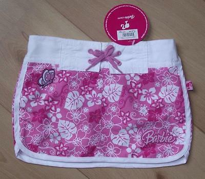 BNWT Girls Clothes 2-3 years BARBIE Pink & White Summer Board Skirt