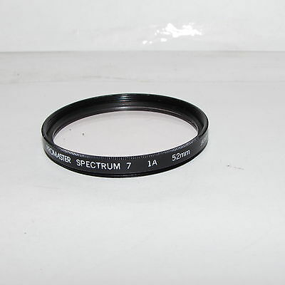 Used Promaster Spectrum 7 1A Sky 52mm Lens Filter Made in Japan S232737