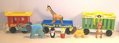 Fisher Price Circus Train Playset