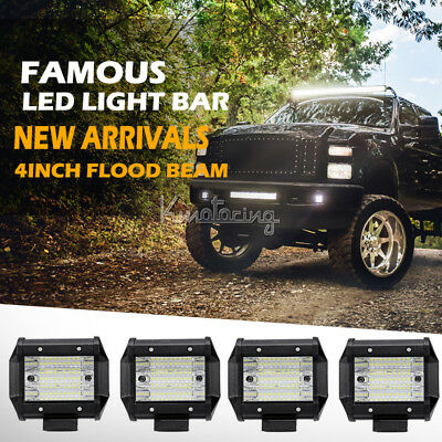 270W 7Inch Cree Spot/ Flood Combo LED Work Light Replace HID 4WD Driving Lamp