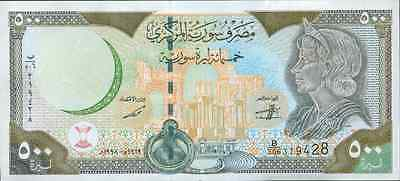 Syria 500 Pounds 1998. P 110. Unc.