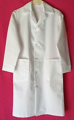 New Ladies White Poly/cotton Healthcare Lab Medical Coat Food Hygiene Overall