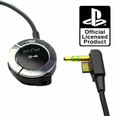 Official Sony Playstation PSP Remote Control for use with Headset Earphones