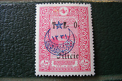 timbre Turquie Cilicie surcharge TEO 10 1919