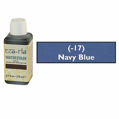 Eco-Flo Waterstain Navy Blue 250 ml (8.5 fl oz.) 2800-17 Tandy Leather Dyes