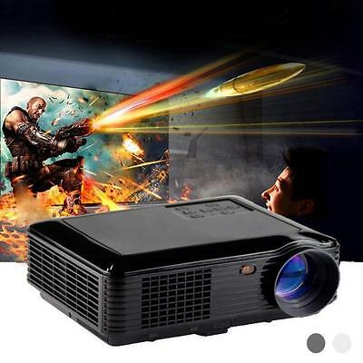 2600 Lumens HD 1080P Home Theater Cinema HDMI LED LCD Multimedia Projector USB