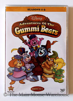 Disney Channel Gummi Bears DVD Classic 1980s 80s Cartoon Series Seasons 1-3