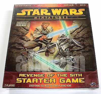 STAR WARS Miniatures Game REVENGE OF THE SITH STARTER GAME d20 RPG NEW SEALED