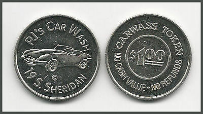 1 (ONE) PJ'S CAR WASH / FEATURES JAGUAR CONVERTIBLE / 28mm WM