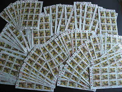 CANADA bulk lot 90 x Sc 1635 Canadian Tire full sheets used! Some wrinkle/crease