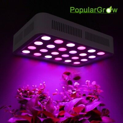 PopularGrow Dimmable 300W LED Grow Light Full Spectrum Hydroponics Medical Plant