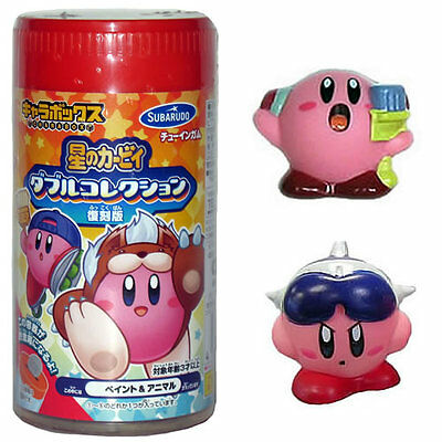 Official Licensed Subarudo Kirby Game Bank and Figure Set Mike and Jet Kirby