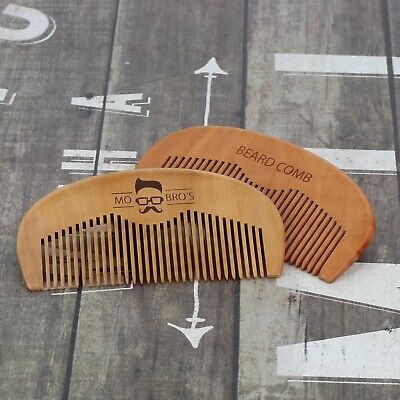 Mo Bro's - Wooden Grooming Beard/Moustache Comb - Movember