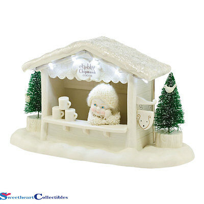 Department 56 Snowbabies 4046557 Chubby Chipunk Cocoa New 2015