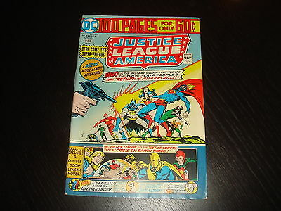 JUSTICE LEAGUE OF AMERICA #114 100 Page Giant Bronze Age  DC Comics 1974   VF