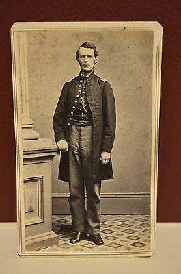 CDV Union Army Officer Civil War Period! Look!