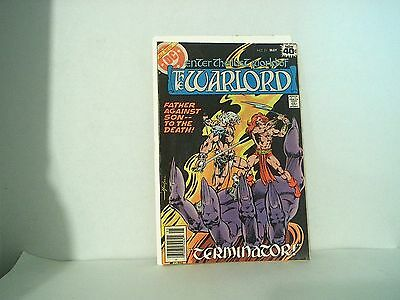 Enter the Lost World of the Warlord DC Comics #21 vintage comic book