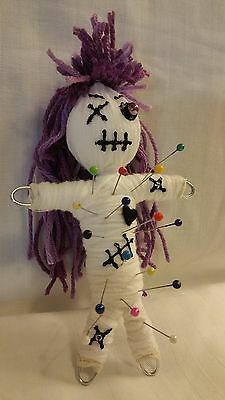 Authentic Voodoo Doll real 7 pins guide new orleans Karma string doll hoodoo