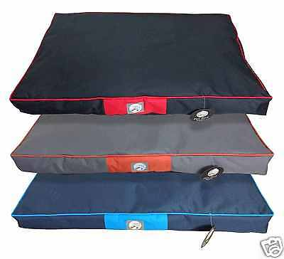 Waterproof Pet Bed Puppy Dog Cat Mat Soft Pillow Mattress Removable Zipped Cover