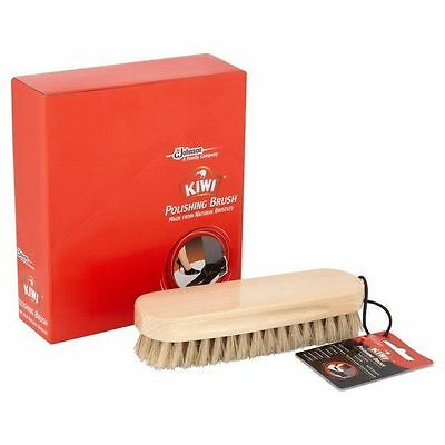 57d7ee9271f Genuine Original Kiwi Shoe Brush Brushes Leather Shoes Bags Boots (Pure  Bristle)