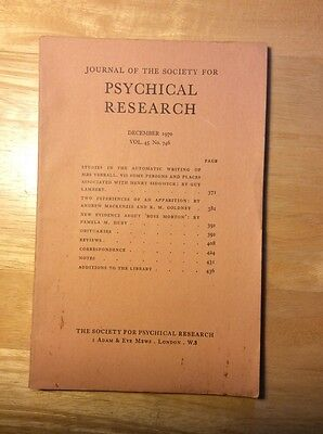 Journal of the Society for Psychical Research - 1970 - Apparitions, Rose Morton