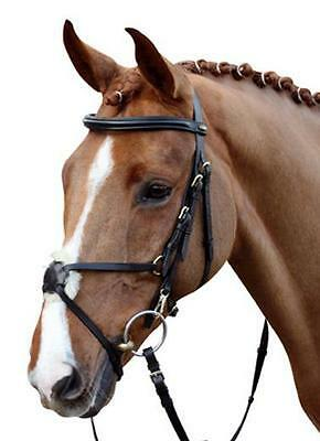 HKM Real Leather Mexican Grackle Bridle With Reins Hand made!!!