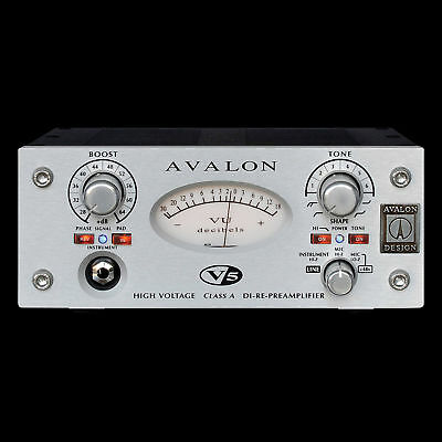 Avalon V5 Preamp DI RE-Mic Preamplifier