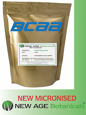 BCAA - Water Soluble - Pharmaceutical Grade - 100g