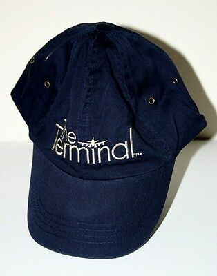 Dreamworks The Terminal Promo Cast and Crew Hat Navy Steven Spielberg