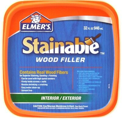 Elmer's E892 32 oz. Carpenter's Stainable Interior/Exterior Wood Filler
