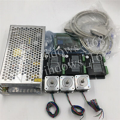 3Axis Stepper Motor Kit Nema17 0.5N.m CNC 3D Printer XYZ Axis Control&Breakout