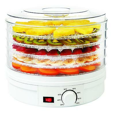 NEW! Electrical Food Dehydrator Machine with Thermostat Control 5 Tier
