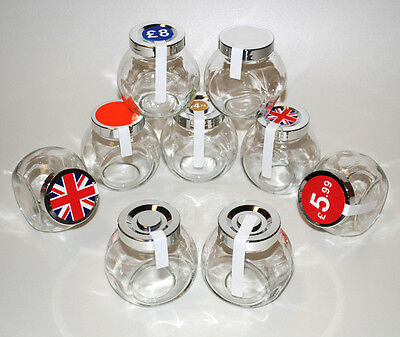 Jam Jar Tamper Proof Security Seals / Labels / Stickers Perfect For Pickles etc.