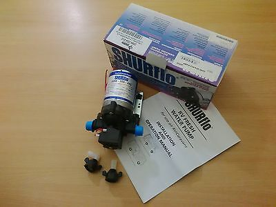 Shurflo On Demand Water Pump 7.0LPM/Amps 4.5 20psi 2095-204-412
