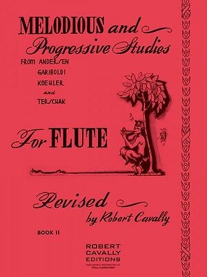 Melodious and Progressive Studies for Flute Book 2 Andersen Gariboldi 000970025