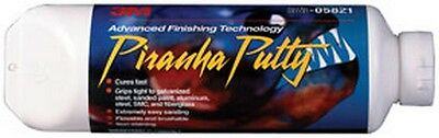 Piranha Advanced Finishing Putty 05821, 24.0 fl oz Tube 3M-5821 Brand New!