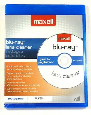 MAXELL 190054 Blu-ray Disc/PS3/HD DVD Lens Clearer