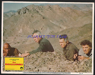 The Professionals 1979 Reissue Lobby Burt Lancaster Lee Marvin Woody Strode