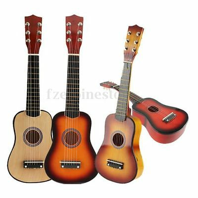 """21"""" Beginners Soprano Acoustic Guitar 6 String for Student Musical Instrument"""