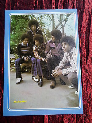 Jackson 5 - Rock /pop Music - 1 Page  Picture- Clipping/cutting