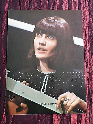 Sandie Shaw- Rock /pop Music - 1 Page  Picture- Clipping/cutting