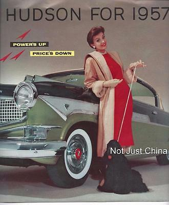 Vintage Hudson - 1957 Hudson Hornet - Fold Out Brochure or Pamphlet