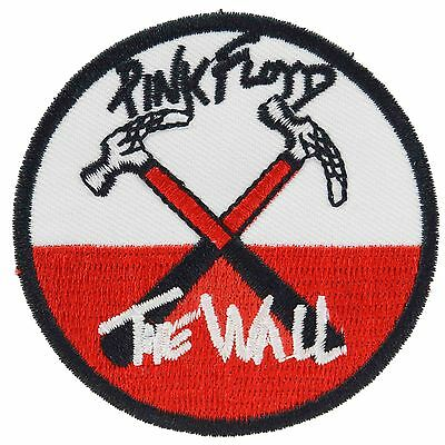 Pink Floyd The Wall Iron On Patch Sew Music Rock Waters Geldof Embroidered