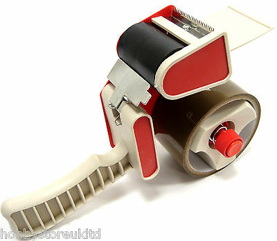 Sellotape Parcel Tape Gun Packaging Dispenser Heavy Duty Hand Held Tape Gun New