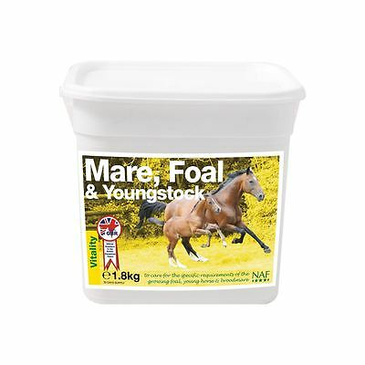 Natural Animal Feeds Mare Foal & Youngstock Supplement Horse Breeding Youngstock