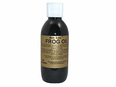 Gold Label Frog Oil Equine Horse Hoof Care